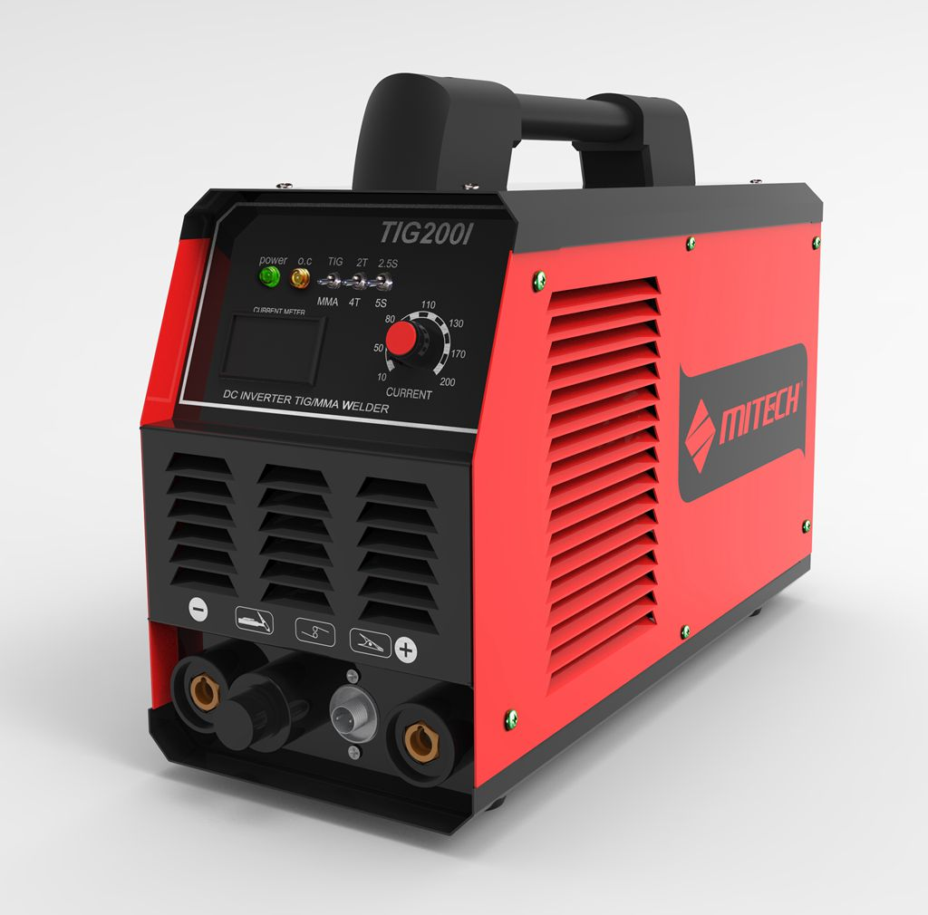 Dual voltage inverter DC TIG / MMA welding machine.